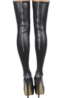 Women Super Stretch Latex Stocking L92288