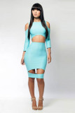 Blue Sexy Dress L2703