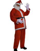 Full Santa Claus Costume L7030