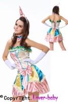 Fever Boutique Vintage Clown Costume L1320