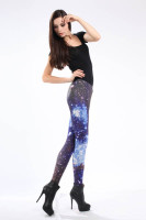 Multicolored Fancy Galaxy Leggings L8711