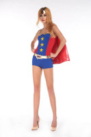 Sexy Comic Book Costume L15261