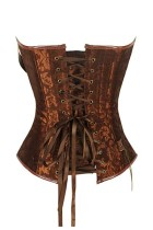 Women's Spiral Steel Boned Steampunk Goth Corset