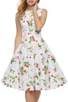 Fashion Sleeveless Big Swing Dress L36086-2