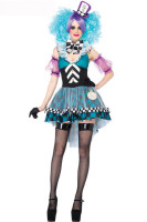 Manic Mad Hatter Adult Womens Costume  L15136