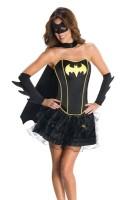 Sexy Batgirl Corset Costume L15231