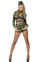 Combat Camo Chick Costume L1363
