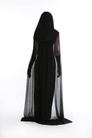 Black Women Spooky Witch Costume L15349
