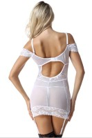 Sexy Back Hollow Out Chemise L28031-1