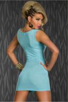 Sleeveless Sexy Mini Dress L2098-2