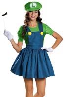 Womens Luigi Dress Costume L15312