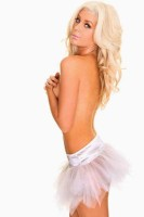 White  Short Petticoat TY030-3