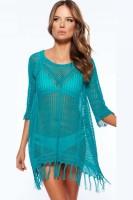 Sexy Cool Fringe Crochet Beachwear L38207-2