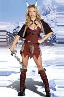 Sexy Viking Warrior Costume L1397
