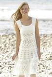 Fashion Vest-style Knit Dress L38311