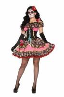 Day Of Dead Sexy Senorita Costume L15409
