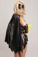 Batgirl Superhero Fancy Dress Costume L1343