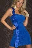 Sexy One Shoulder Mini Dress  L2590-2
