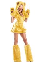 Yellow Bear Beauty Costume L1428-2