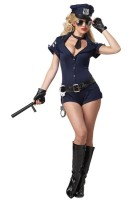 Sexy Arresting Police Officer Cop Adult Costume L1467