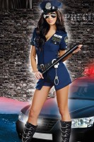 Officer Sheila B. Naughty Costume L1469