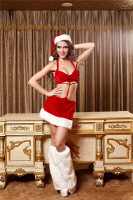 Sexy Christmas Mini Dress L70929