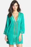 Sexy Casual Crochet Trim Cover-up L38197-3