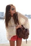 Handmade Fashion Loose Blouse L38310