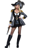 Deluxe Seven Seas Seductress Pirate Costume L15488