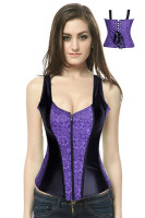 2013 New Coming Full Two Strap Toned Corset L4049-2