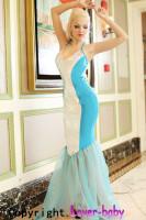 Sea Siren Mermaid Fancy Dress Costume L1287