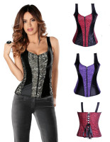 2013 New Coming  Full Two Strap Toned Corset  L4049-1