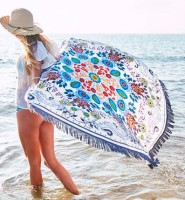 Vagabond Beach Wildflower Round Towel L38359