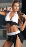Ripped Look Two Piece Set L3154