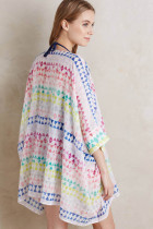 Loose Chiffon Cape Beach Dress L38330