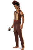 Adult Men Noble Indian Warrior Halloween Costume L15304