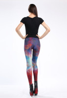 Multicolored Fancy Galaxy Leggings L8731