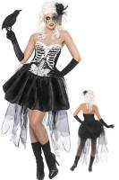 Skeleton  Fancy Dress Costume L1393