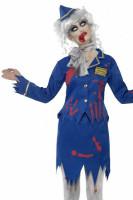 Zombie Air Hostess Costume