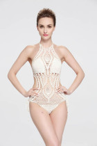 One Piece Handmade Crochet Swimwear L32574-1