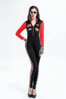 Racer Girl Jumpsuit Costume L15479