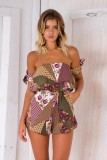 Multicolor Summer Fashion Rompers L55306-2