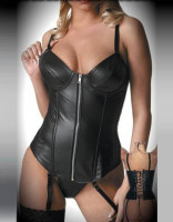 Sexy Leather Corset L6014