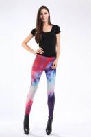 Multicolored Fancy Galaxy Leggings L8713
