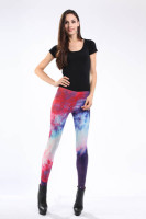 Multicolored Fancy Galaxy Leggings L8713