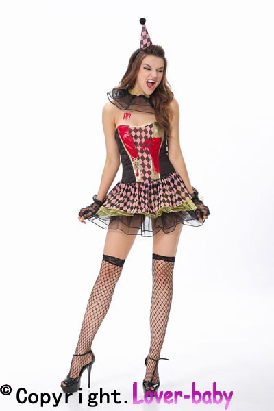 Zombie Circus Clown Costume L15106 Item NO L15106  sc 1 st  Wholesale Sexy LingerieSexy ClothesChina Lingerie Manufacturer & US$ 11.25 - Zombie Circus Clown Costume L15106 - www.lover-baby.com