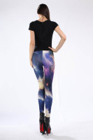 Multicolored Fancy Galaxy Leggings L8708
