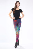 Multicolored Fancy Galaxy Leggings L8731