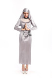 Nuns Religion Arabic Costume for Halloween Carnival