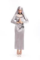 Nuns Religion Arabic Costume for Halloween Carnival
